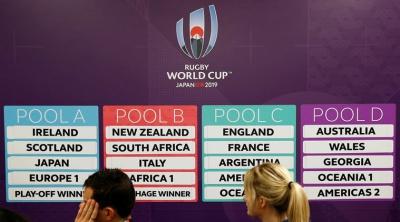 Mundial de Rugby Japón 2019 - Zonas